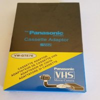 VHS - C  MOTORIZED CASSETTE ADAPTER CAMCORDER PLAY VHSC VIDEO TAPE ON VHS VCR PLAYER FOR JVC RCA PANASONIC