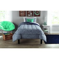 Mainstays Twin or Twin XL Jersey Comforter Set, 2 Piece