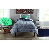 Mainstays Full or Queen Jersey Comforter Set, 3 Piece