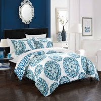 Chic Home 7-Piece Aragona REVERSIBLE Bed In a Bag Duvet Set