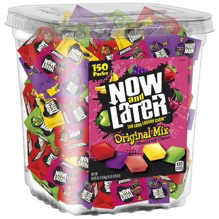 Now & Later, Original Mix Bulk Candy, 90 Oz, 150 Ct](Bulk Blue Candy)