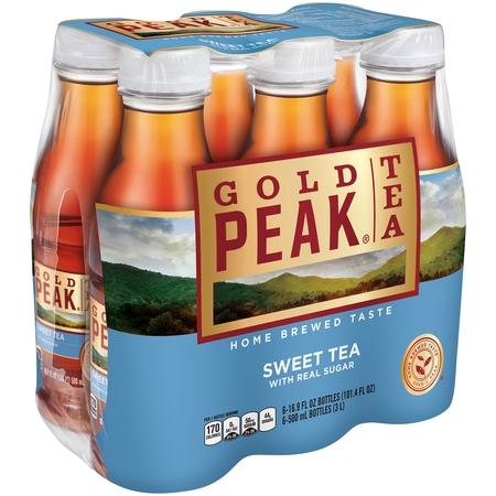 (2 Pack) Gold Peak Sweet Tea, 16.9 Fl Oz, 6 (Sweet Carolina Sweet Tea)