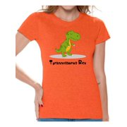 Awkward Styles Tyrannosaurus Rex Dinosaur Shirt Tshirt For Women Birthday Party Gifts