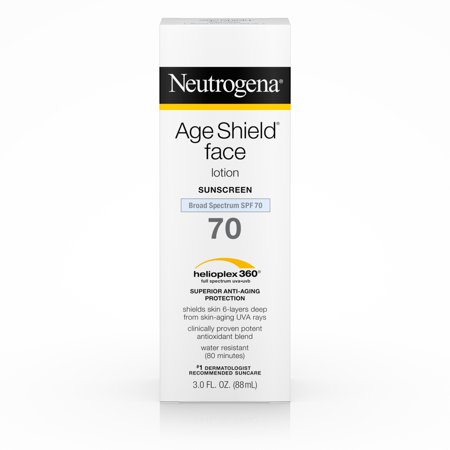 Neutrogena Age Shield Anti-Oxidant Face Sunscreen SPF 70, 3 fl. (Best Sunscreen For Face And Body)