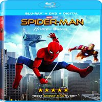 Spider-man: Homecoming (Blu-ray + DVD + Digital)