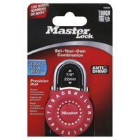 Master Lock 1590D Combination Lock Assorted Colors