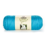 Caron Simply Soft Brites Yarn, Blue Mint