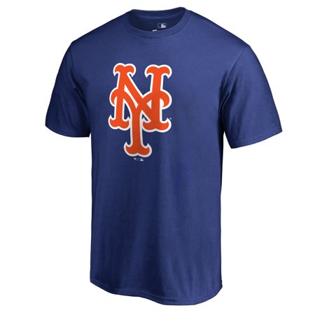 New York Mets Team Color Primary Logo T-Shirt - Royal
