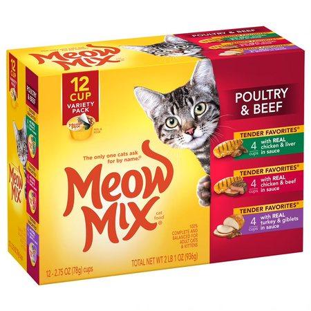 meow mix wet cat food reviews
