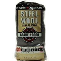 Rhodes American Steel Wool, Super Fine Grade #0000, 12 pads