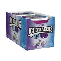 Ice Breakers Sugar-Free Grape Flavor Mints, 1.3 Oz., 8 Count