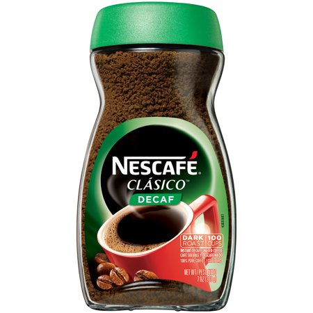 (2 Pack) NESCAFE CLASICO Decaf Instant Coffee 7 oz.