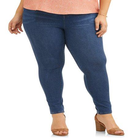 Women's Plus Size Full Length Super Soft Jegging - Plus Size Nurse