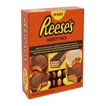 Reese's, Variety Pack Assortment, 30 Count, 44.65 - Candy Reeses