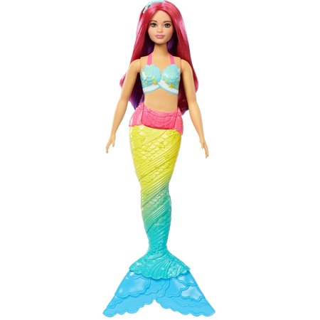Barbie Dreamtopia Mermaid Doll, Red