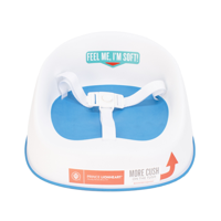 Prince Lionheart Booster SQUISH Booster Seat, Berry Blue