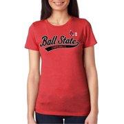 1c4092c8832aa J2 Sport Ball State Cardinals NCAA Juniors Sports Tail T-shirt