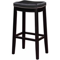 Linon Claridge Bar Stool, 32 inch Seat Height, Multiple Colors