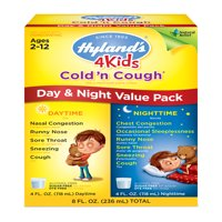Hyland's 4 Kids Cold'n Cough Medicine Liquid Day & Night Value Pack, 4 Fl Oz, 2 ct