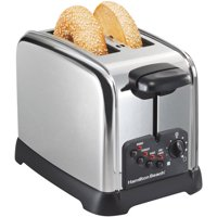 Hamilton Beach Classic Chrome 2 Slice Toaster | Model# 22790