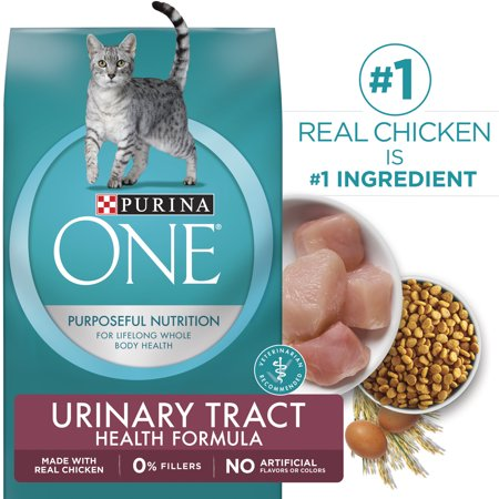 Purina One Urinary Tract Health Formula Natural Dry Cat Food, 16 lb