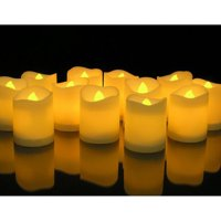 Product Image Novelty Place Longest Lasting Battery Operated Flickering Flameless LED Votive Candles Pack Of