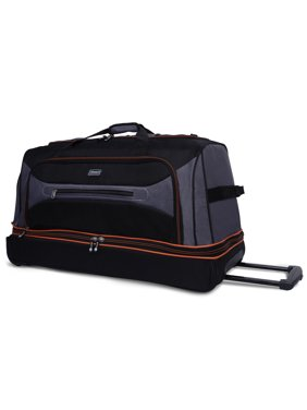 Product Image Coleman 30 Rolling Drop Bottom Duffel Bag Grey