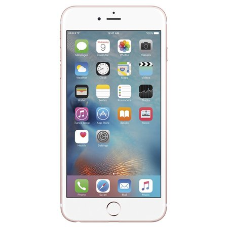 Seller Refurbished Apple iPhone 6S Plus 16GB Unlocked GSM iOS Smartphone Multi Colors (Rose Gold/White)