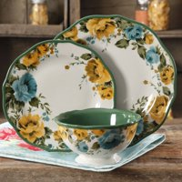 The Pioneer Woman 12-Piece Dinnerware Set, Walmart Exclusive
