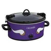 Crock-Pot NFL 6-Quart Slow Cooker, Minnesota Vikings