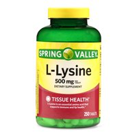 Spring Valley L-Lysine Tablets, 500 mg, 250 Ct