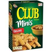 Keebler Club Minis Original Crackers, 11 Oz.
