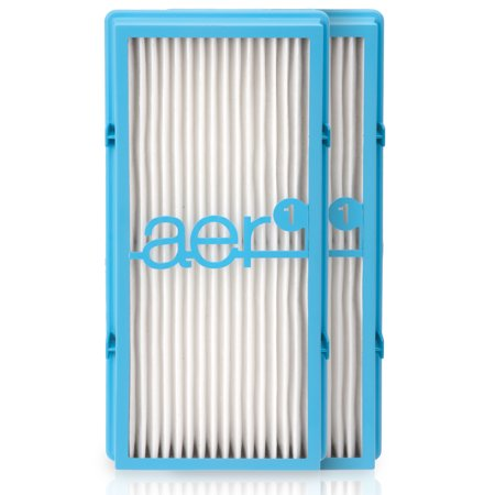 Holmes aer1 HEPA-Type Total Air Filter Replacement with Dust Elimination, 2 Count (HAPF30ATD-U4R) Air Purifier Spare Filter