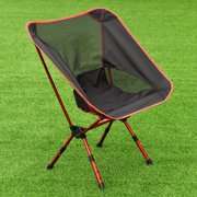 Adjule Aluminum Folding Camping Chair Seat Fishing Hiking Beach Outdoor Bag