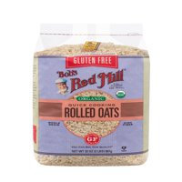 Bobs Red Mill Gluten Free Organic Rolled Oats, 32 Oz