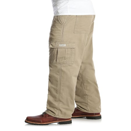 c0b67066 Wrangler Men's Fleece Lined Cargo Pant - Best Mens Cargo Pants
