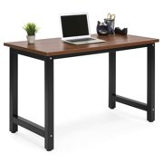 Best Choice Products Large Modern Computer Table Writing Desk Workstation for Home and Offce - Brown/Black