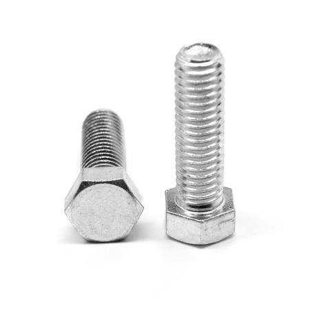 M10 x 1.50 x 20 MM (FT) Coarse Thread DIN 933 Class 10.9 Hex Cap Screw (Bolt) Alloy Steel Zinc Plated Pk 850