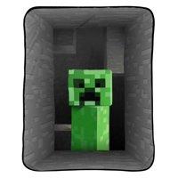 """Minecraft 62"""" x 90"""" Plush Blanket, Kid's Blanket"""