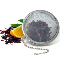 """2.5"""" Stainless Steel Mesh Tea Ball Infuser Strainer Loose Leaf Round Reusable !!"""