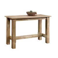 Sauder Boone Mountain Counter Height Dinette Table, Craftsman Oak Finish