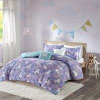 Home Essence Kids Laila Unicorn Printed Cotton Comforter Bedding Set