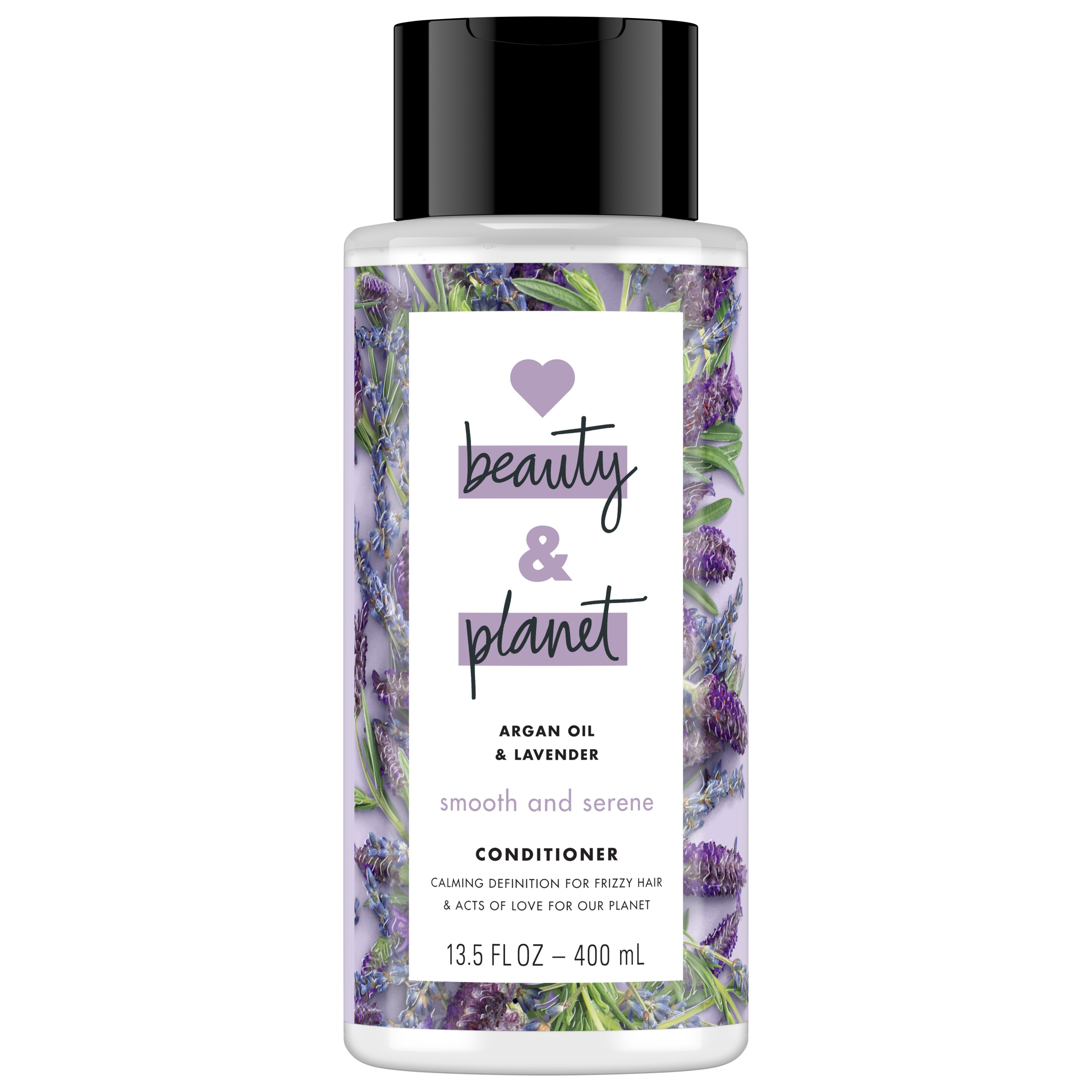 Love Beauty and Planet Smooth and Serene Conditioner Argan Oil and Lavender,
