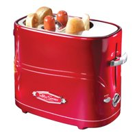 Nostalgia HDT600RETRORED Pop-Up Hot Dog Toaster
