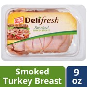 Oscar Mayer Deli Fresh Sliced Smoked Turkey Breast, 9 Oz.