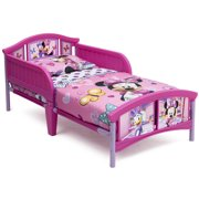 Delta Children Disney Minnie Mouse Plastic Toddler Bed, Pink