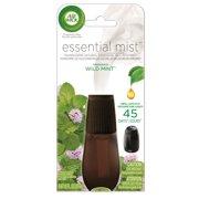 (2 pack) Air Wick Essential Mist Fragrance Oil Diffuser Refill, Wild Mint, Air Freshener