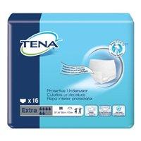 TENA Extra Underwear, MEDIUM, Heavy Absorbency, Pull On, 72231, 72232 - Case of 64