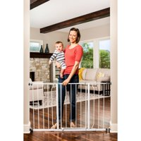 Regalo Extra Wide Easy Open 47 Inch Wide Baby Gate, With Both Pressure and Wall Mount Kits