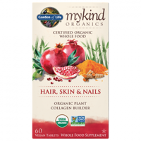 Garden of Life Mykind Organics Hair, Skin & Nails Vegan Tablets, 60 Ct
